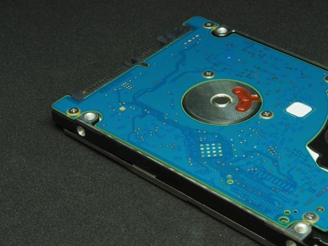 パソコン ハードディスクに保存されたデータ