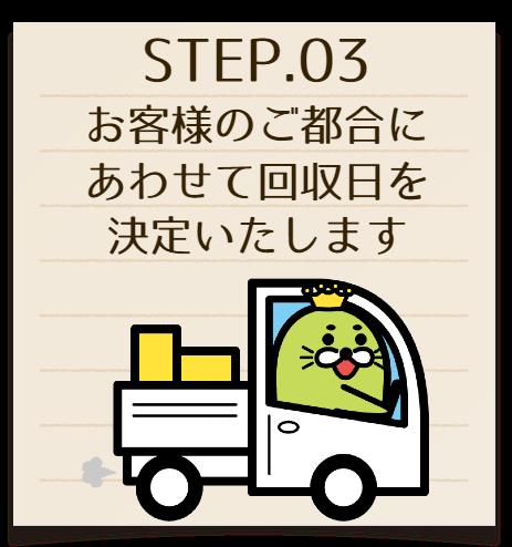ステップ03